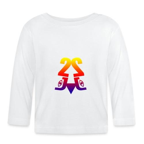 2J_LOGO_Beach - Langærmet babyshirt
