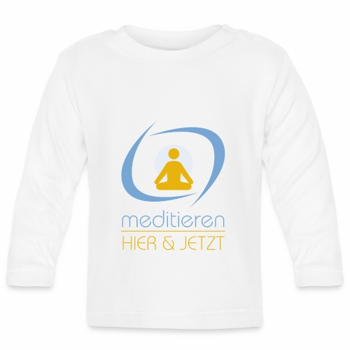 MeditierenHierJetzt.ch - Baby Langarmshirt