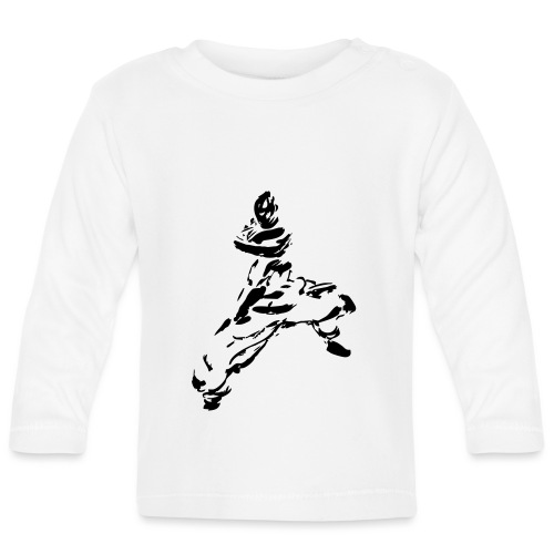 kungfu - Baby Long Sleeve T-Shirt
