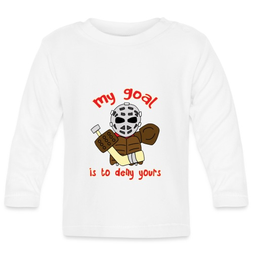 Little Vintage Goalie - Baby Long Sleeve T-Shirt