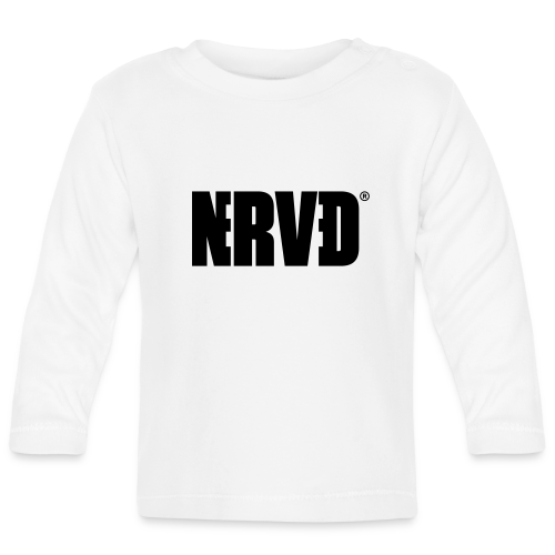 Official Nerved® Logo Black - Baby Long Sleeve T-Shirt