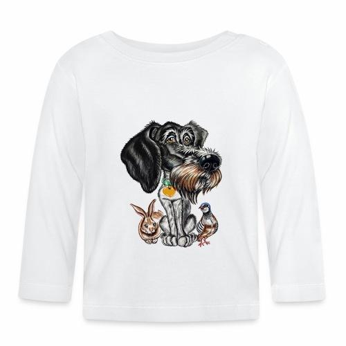 ULINA La perrita cazadora!! - Camiseta manga larga bebé