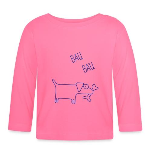 cane1 - Maglietta a manica lunga per bambini