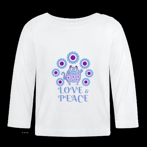 Hippie monster - Baby Long Sleeve T-Shirt