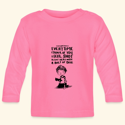 Bizarre Love triangle - New Order - T-shirt manches longues Bébé