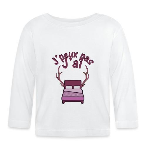 Je peux pas j'ai Lit Corne (Licorne) - T-shirt manches longues Bébé