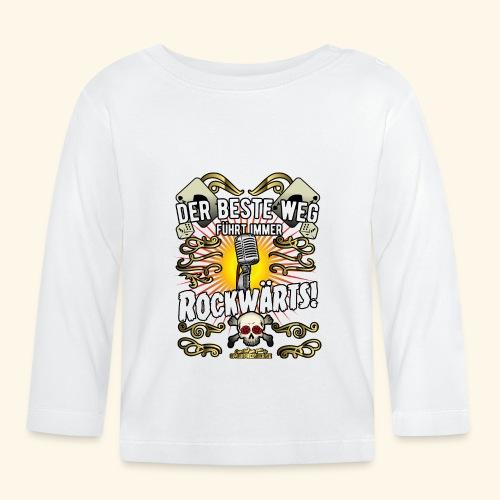 Rock Music Shirt ROCKWÄRTS - Baby Langarmshirt