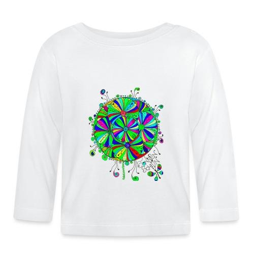 GrünerBlütenTraum - Baby Langarmshirt