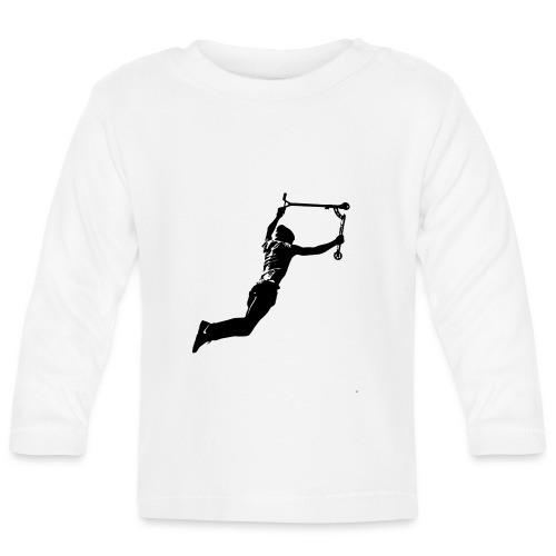 Stunt Scooter in Action Rider Scoot - Baby Langarmshirt