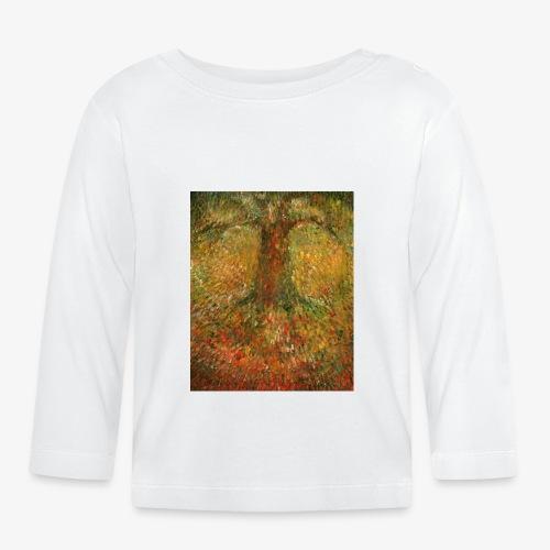 Invisible Tree - Koszulka niemowlęca z długim rękawem