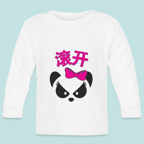 Sweary Panda - Baby Long Sleeve T-Shirt