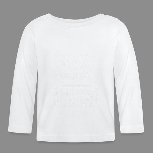 Motos, Mujeres y Armas - Camiseta manga larga bebé