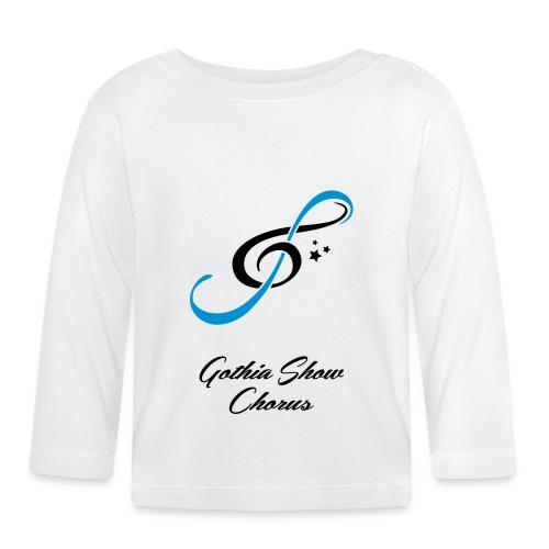 GothiaShowChorus_LOGGA Blå svart - Långärmad T-shirt baby
