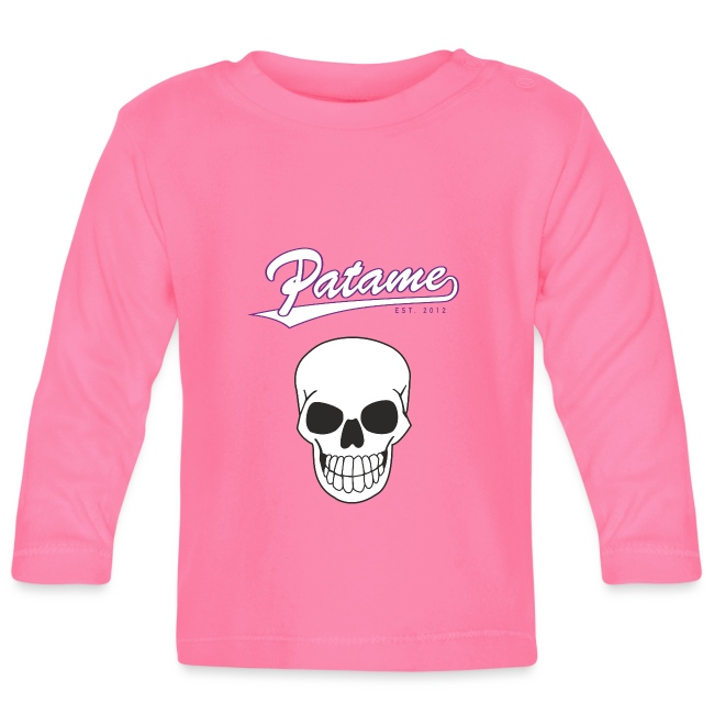 Patame White Purple with Skull