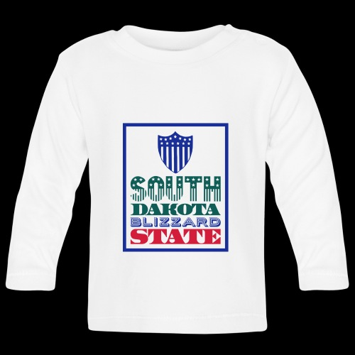 South Dakota blizzard state - Baby Long Sleeve T-Shirt