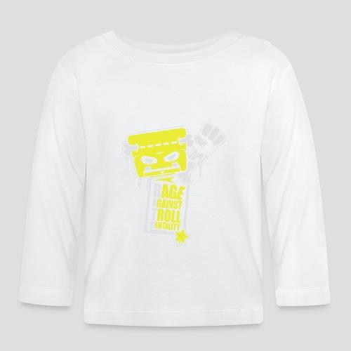 Rage against Trolls - T-shirt manches longues Bébé