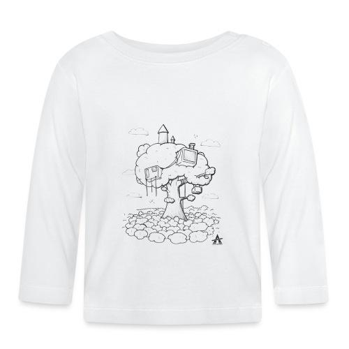 Cabane dans un arbre Sketch Line - T-shirt manches longues Bébé