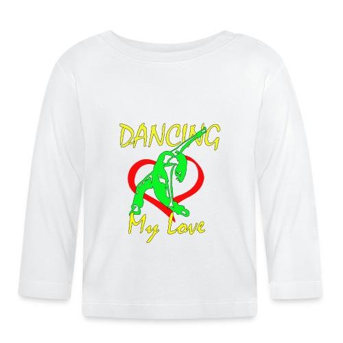 Dancing my Love - Baby Langarmshirt