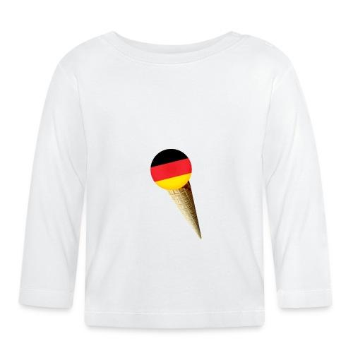 Fußball WM Geschenk Fan Weltmeister Deutschland - Baby Langarmshirt