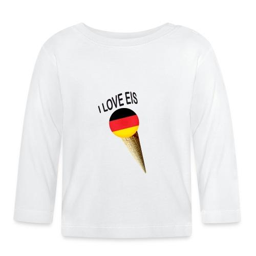 Fußball WM Fan Geschenk - Baby Langarmshirt