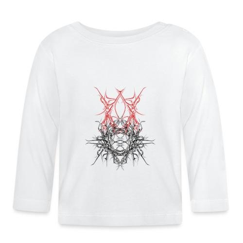 dunkles metall - Baby Langarmshirt