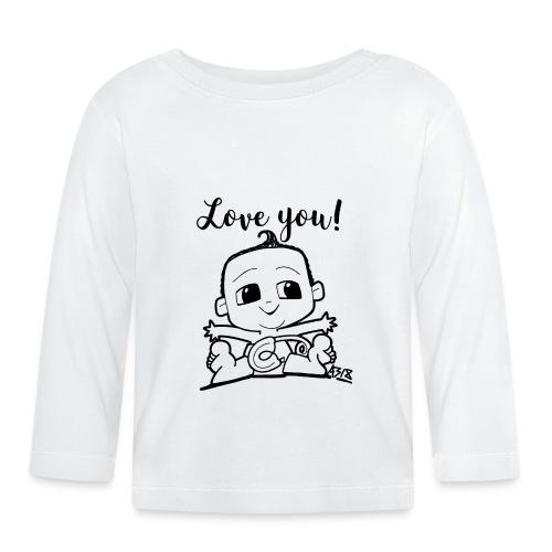 baby boy blackwhite - T-shirt
