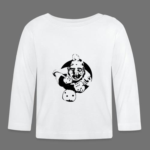 Professional Gambler (1c musta) - Vauvan pitkähihainen paita