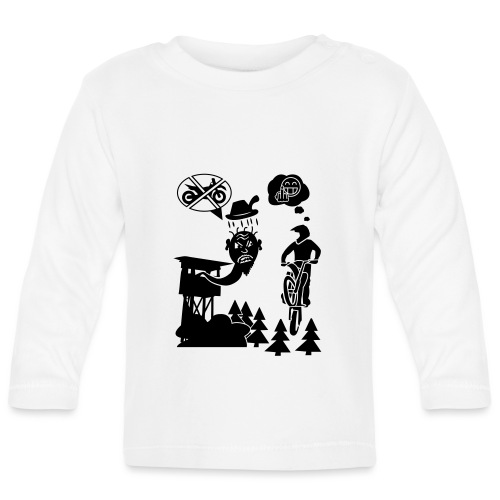 Biker vs. Hunter - Baby Langarmshirt
