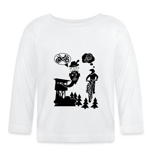 Biker vs. Hunter - Baby Langarmshirt