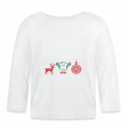 Ugly MonkeyMedia Christmas (II) - Baby Langarmshirt