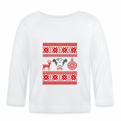 Ugly Christmas (IV) - Baby Langarmshirt