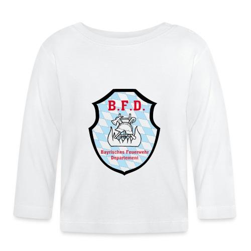 Inoffizielles bayrisches Feuerwehrabzeichen - Baby Langarmshirt
