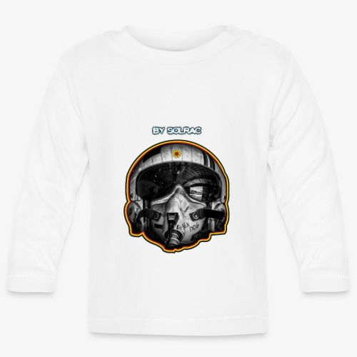 SOLRAC Pilot Air Force - Camiseta manga larga bebé