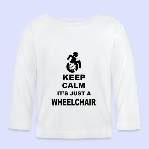 Blijf kalm, het is maar een rolstoel 005 - T-shirt