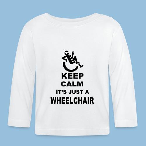 Keepcalmjustwheelchair2 - T-shirt