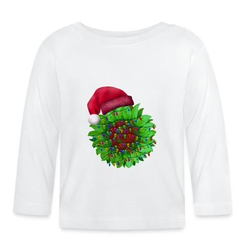 Sunflower Christmas - Baby Long Sleeve T-Shirt