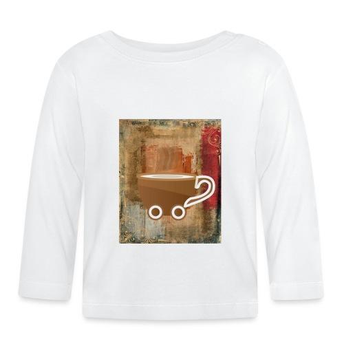 vintage coffee - Baby Langarmshirt