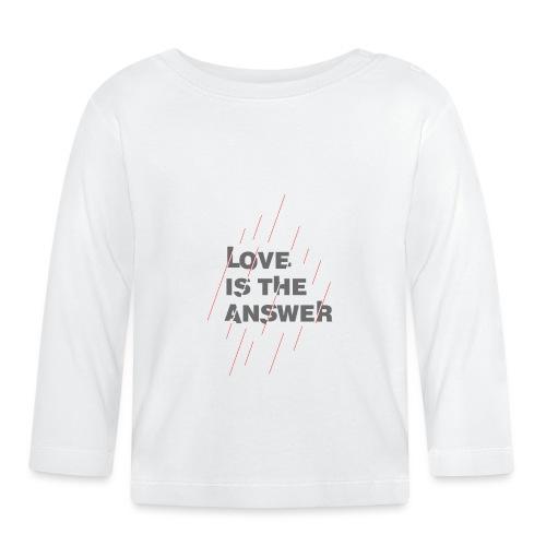 LOVE IS THE ANSWER 2 - Maglietta a manica lunga per bambini