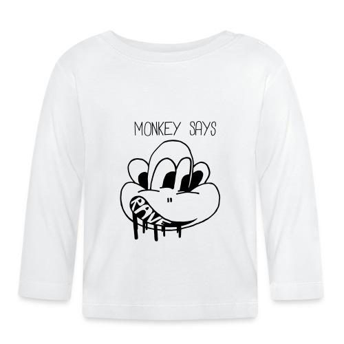 Monkey Says Rave - Baby Long Sleeve T-Shirt