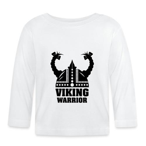 Viking Warrior - Lady Warrior - Vauvan pitkähihainen paita