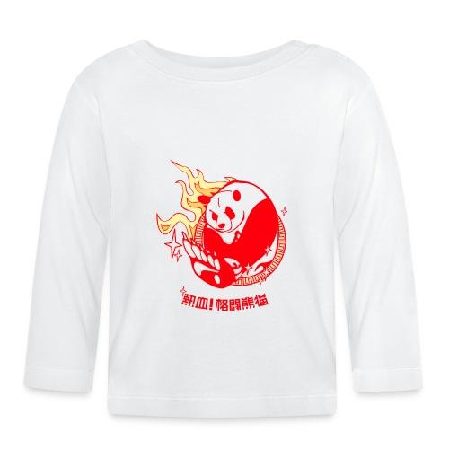 Oso Panda - Camiseta manga larga bebé