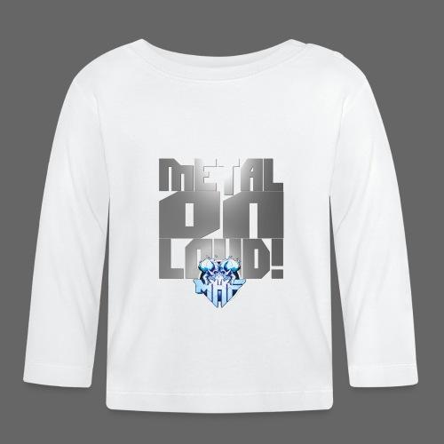 metalonloud large 4k png - Baby Long Sleeve T-Shirt