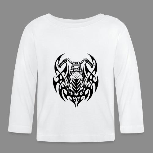 Moto Tribal - Camiseta manga larga bebé