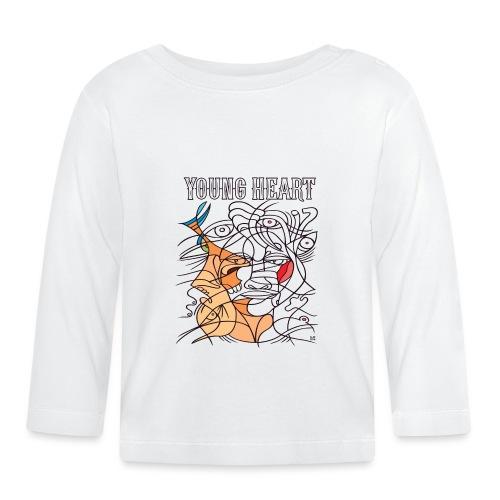 Young Heart - A Kiss - Maglietta a manica lunga per bambini