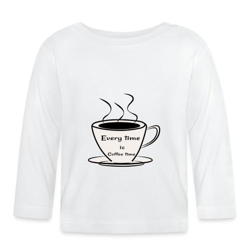 kaffe - Långärmad T-shirt baby