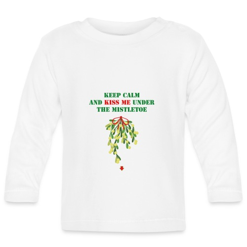 Under the mistletoe - Baby Langarmshirt