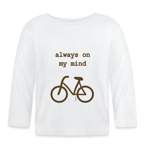 Fahrrad Always On My Mind - Baby Langarmshirt
