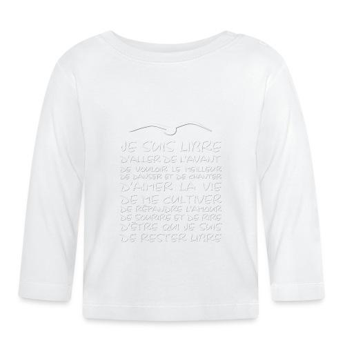 J SUIS LIBRE - T-shirt manches longues Bébé