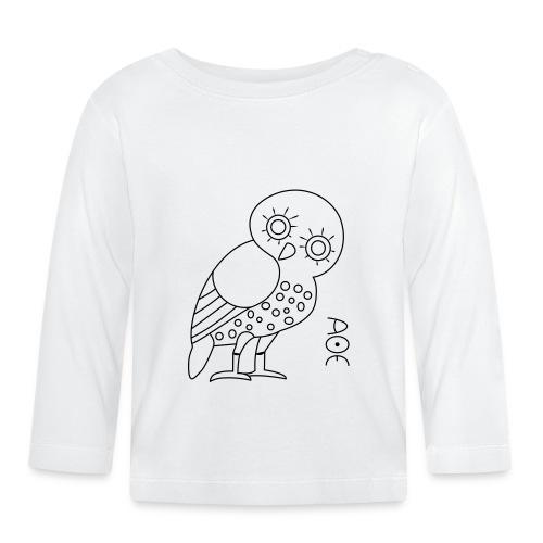 Owl of Athena - Baby Long Sleeve T-Shirt