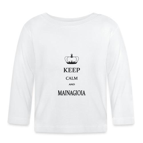 keep calm mainagioia-01 - Maglietta a manica lunga per bambini